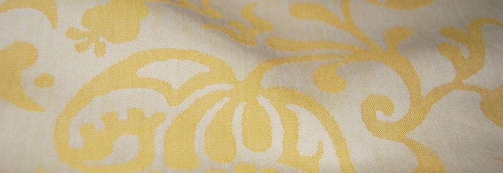 Close up of jacquard fabric