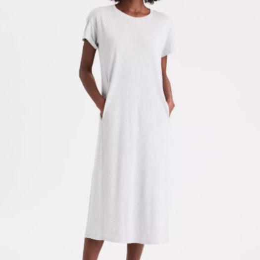 Oversized T-Shirt Maxi Dress