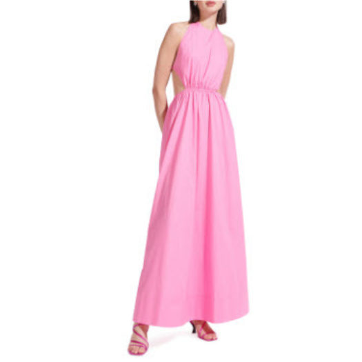 Apfel Open-Back Maxi Dress