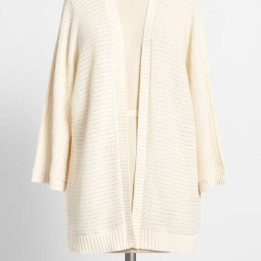 Women's Cotton Cardigan - Knit to Win It