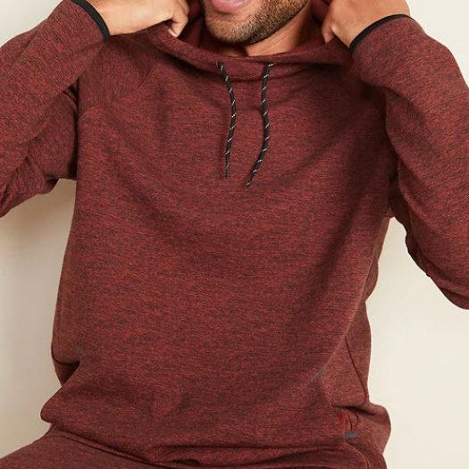 Men's Fleece Dynamic Pullover Hoodie