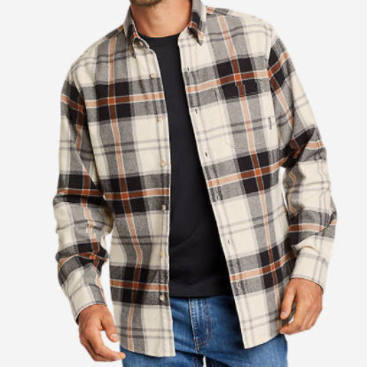 Eddie's Favorite Flannel Relaxed Fit Shirt