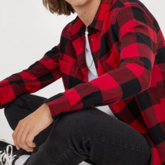 Cotton Flannel Shirt