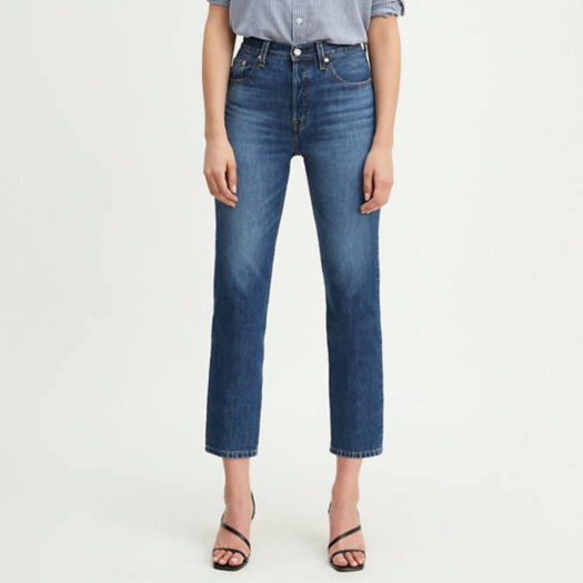 levi's 501 original cropped womens jeans collection item