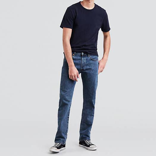 medium stonewash levi's 501® original fit mens jeans