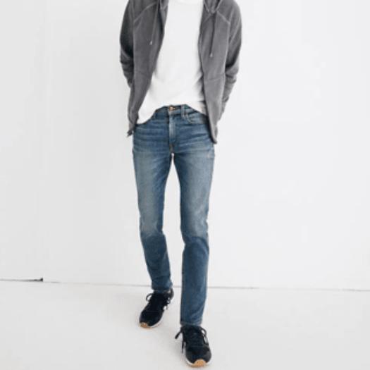 Slim Jeans in Danforth Wash
