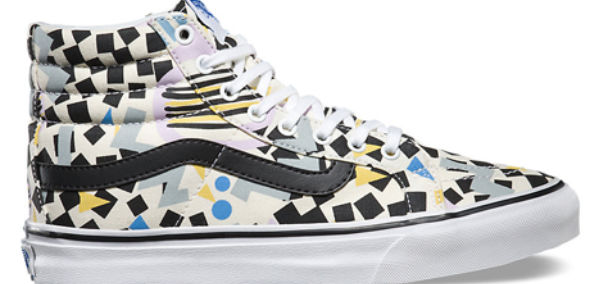 cotton news eley kishimoto vans hi tops square