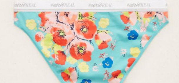 shop aerie floral panties