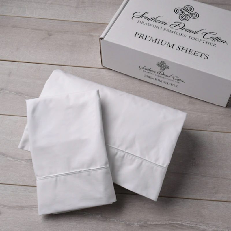 overhead of southern drawl sheet set
