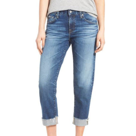 Cotton Boyfriend Jeans