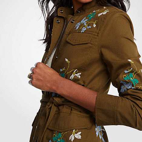 Cotton Embroidered Jacket