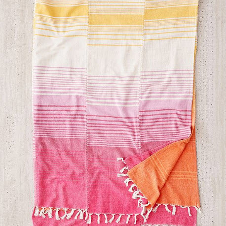 Cotton Throw Blanket Urban