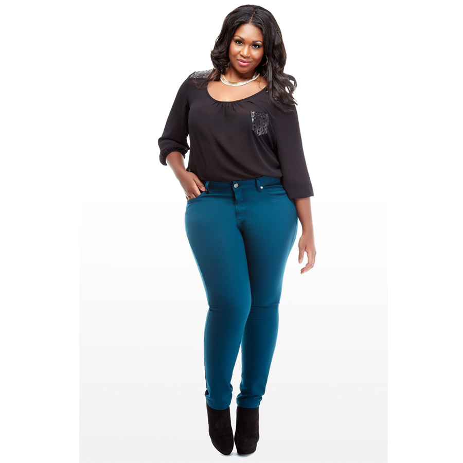 The Perfect Plus-Size Pair of Jeans | Cotton