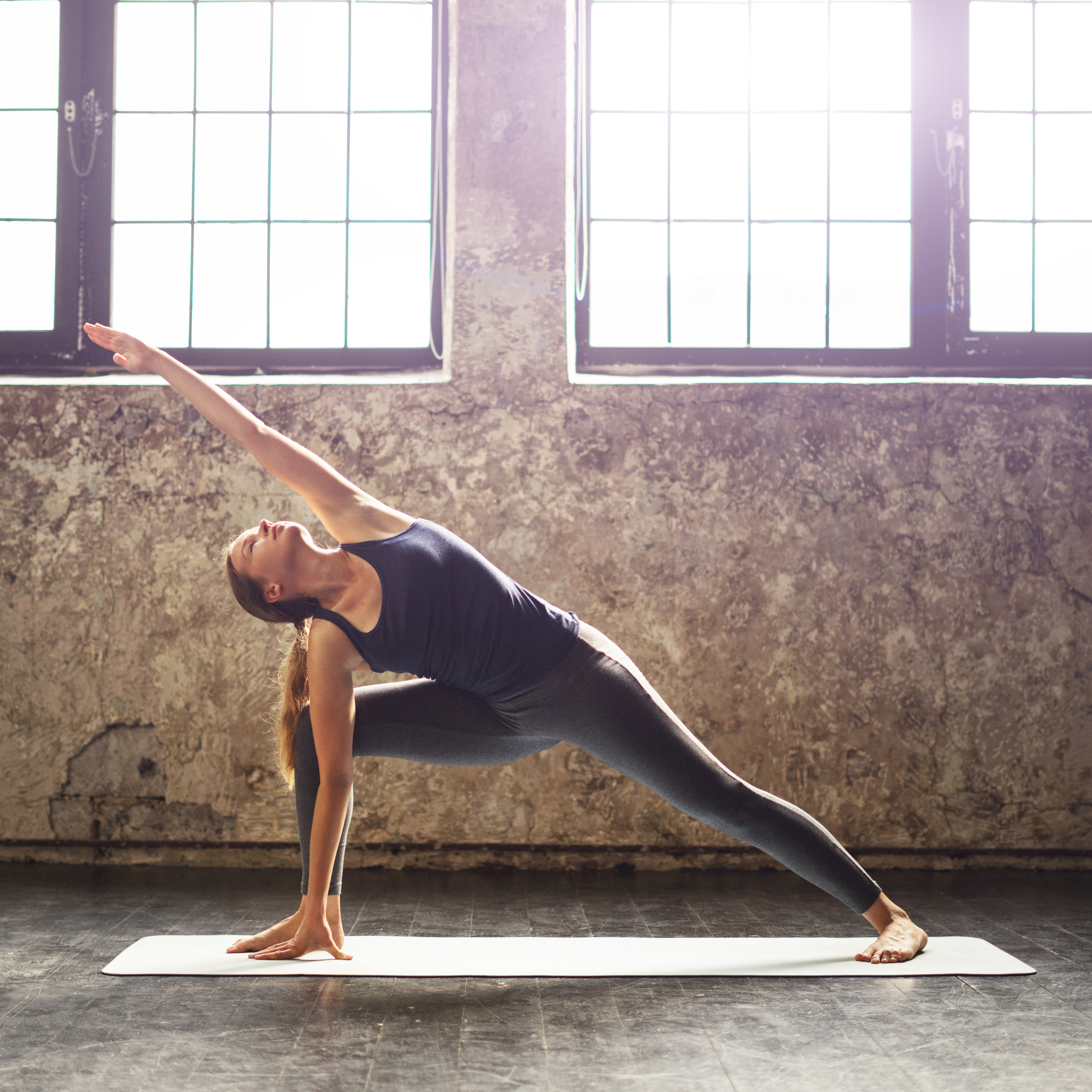Cotton Woman Yoga Smart Apparel Technology Hero