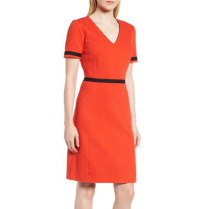 Hugo Boss Cotton Dress
