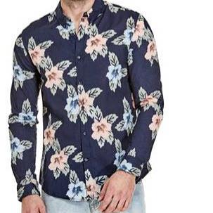 Mens Floral Shirt