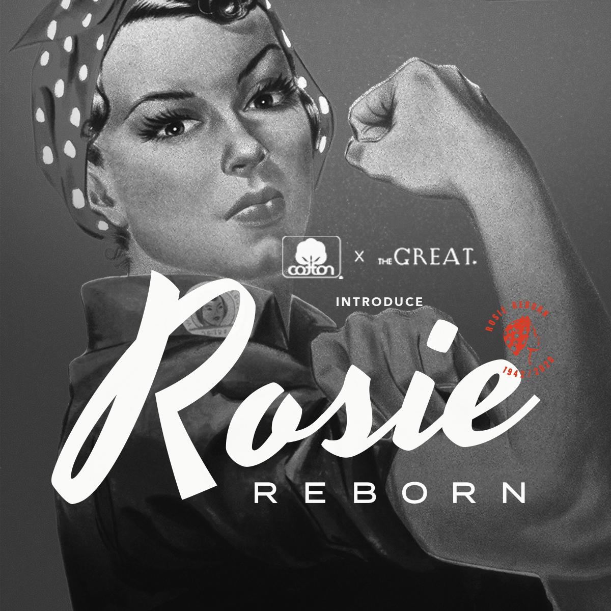 rosie the riveter reborn