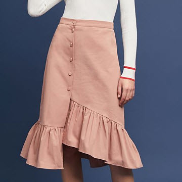 Ruffled Skirt Cotton
