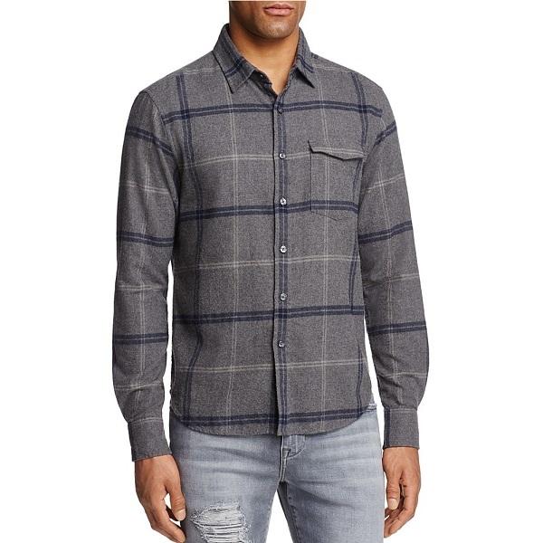 Shop Cotton 60 Second Fashion Show Joe Jeans Plaid Button Down 600X600