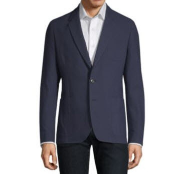 Stretch Cotton Jacket Mens