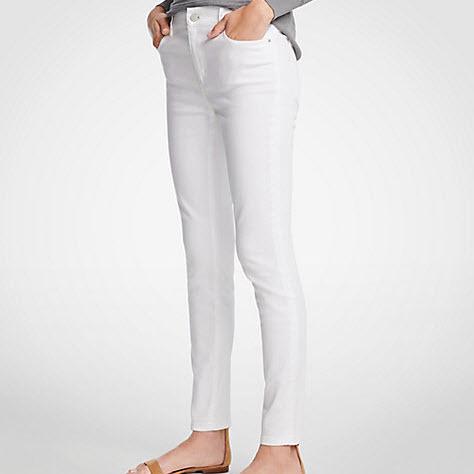 White Jeans Cotton
