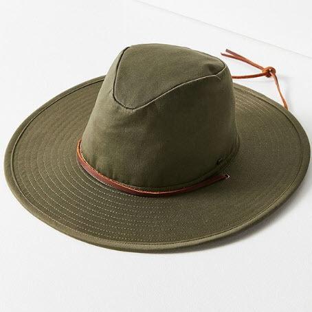 Wide Brim Hat Cotton