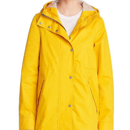 Yellow Cotton Jacket