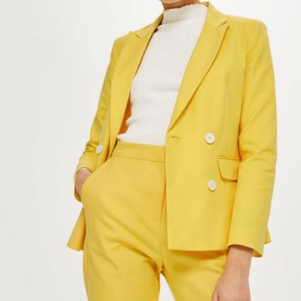 Yellow Suit Women
